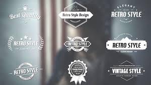 Best Title Design Retro Title Pack