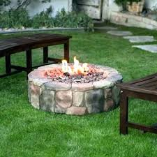 gas fireplace outdoor kits patio propane fire pit in backyard diy ou