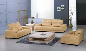 yellow leather sofa 2016 new design clic 1 2 3 large size modern leather