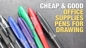 Desk Cheap Good Office Supplies Pens For Drawing Fanartgallerycom Cheap Good Office Supplies Pens For Drawing Youtube