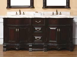 The Benefit of using Cherry Wood for Bathroom Vanity : Amazing Dark Cherry  Bathroom Cabinet Designed