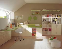 cool kids bedroom furniture arrangement for boys with inspiring loft bed design and natural green colored bedroom furniture arrangement ideas