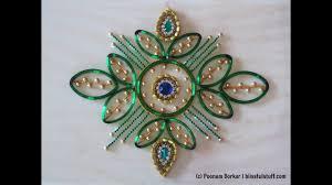 Design With Broken Bangles Diy Kundan Rangoli Using Broken Bangles Best Out Of Waste