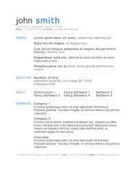 Most Popular Resume Templates Best of This Is What A GOOD Resume Should Look Like CareerCup Website