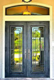 glass front entry door wrought iron and glass front entry doors door inserts entrances entrance double