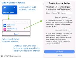 Tip Calling Shortcuts From Drafts Tips Tricks Drafts
