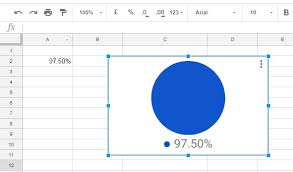 How To Create A Pie Chart In Google Spreadsheet Pie Chart Using Data From Only One Cell Dokumentredigerare