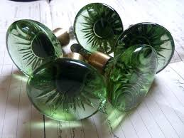 like green glass door 1 of 5 vintage retro drawer knobs through the like green glass door