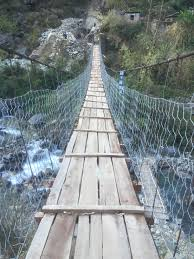 pointless essays  swinging bridges