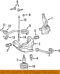 Ford oem 09 11 ranger front suspension coil spring 9l5z5310l ebay 9 on diagram only genuine oe factory original item