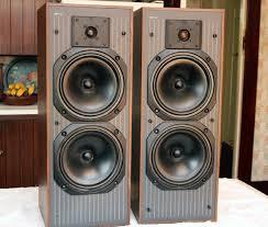 kef c series. kef c40 tower speakers : no grilles kef c series