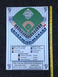 Pnc Field Seating Chart Scranton Ticket Prices And Map Sign From Pnc Field Scranton Wilkes Barre Yankees