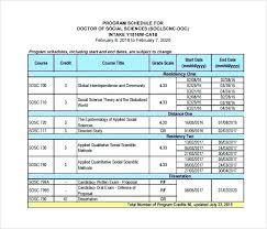 Design Schedule Template Construction Activity Schedule Template
