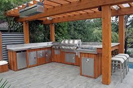 outdoor kitchen lighting. Outdoor Kitchen Lighting Design Photo - 2