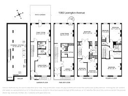 brownstone house plans back historic brownstone floor plans brownstone house floor plans