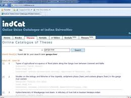 theses database search by vivekanand jain bhu shodh ganga 6 for