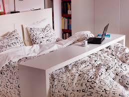 rolling bedside table modern