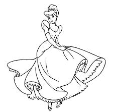 Coloring Disney Princess Princess Coloring Pages Online Printable