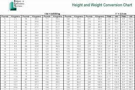 Human Weight Chart Human Weight Chart Human Height Conversion Table Cm To Inches