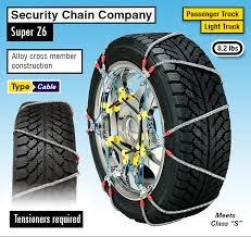 Super Z Tire Chain Size Chart Winter 2019 20 Best Tire Chains For Snow Ice Buying Guide