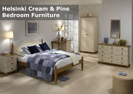 Pine Bedroom Furniture Uk Helsinki Cream And Pine Bedroom Furniture