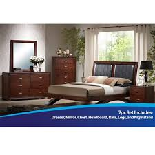 Check out the contemporary Raven bedroom furniture group from ...