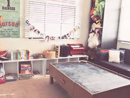 Plain Office Playroom Side Of My Organized In Montessori For Perfect Design
