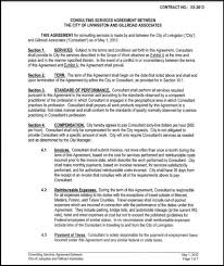 Independent Consulting Agreement One Year Independent Contractor's Agreement Gillroad Associates 1