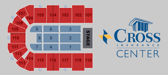 Seating Charts Cross Insurance Center
