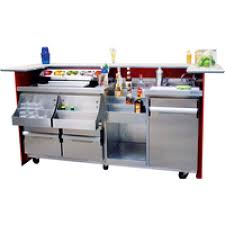 Mobile Kitchen Equipment Hagola Mobile Cocktail Station Kid Catering Equipment