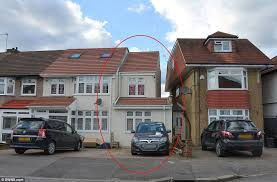 shadow the extension on tariq ahmed s home circled was added in 2010