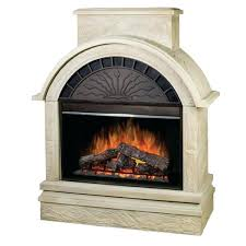 electric fireplace with stone electric castlecreek electric stone fireplace heater