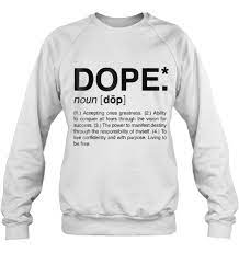 what is the meaning dope