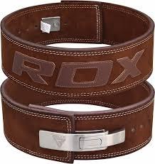 rdx weight power lifting leather lever pro belt gym training powerlifting 4 com