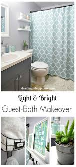Light \u0026 Bright Guest Bathroom Makeover - The Reveal! | Small ...