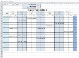 Free Printable Work Schedule Calendar Free Printable Work Schedule
