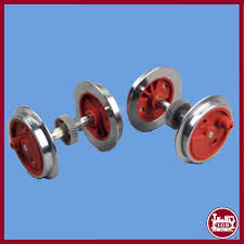lgb axles sets are the sets for your engine with the drive gear on them in the left exle you see a stainz 2010 2020 axle set for front and rear