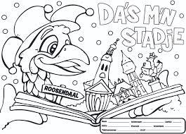Kleurplaat Stichting Carnaval Roosendaal