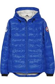 Canada Goose   PBI Camp Hoody quilted down coat   NET-A-PORTER.COM