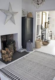 house doctor rug block dark gray 160x230cm house doctor