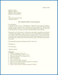 Visa Cover Letter Invitation Letter To Consulate For Visitor Visa