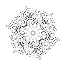 Mandala Color Sheets Print Mandala Coloring Pages Mandala Color