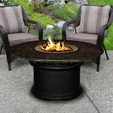 unthinkable fire glass for propane pit del mar 48 inch table by californium outdoor concept