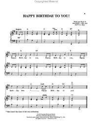 Edwin sung at sheet music plus. Happy Birthday Free Sheet Music Pdf