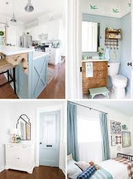 gray blue paint colors cottage farmhouse