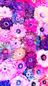 Pastel Glitter Flower Wallpaper Iphone ...