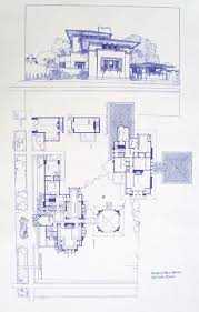 architecture house blueprints. Frank Lloyd Wright Mrs. Martin House Blueprint ,un Maestro Nel Disegnare! Architecture Blueprints