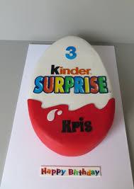 Egg Surprise Cake Design Kinder Surprise Cake Überraschung Kuchen Kuchen Ideen Und