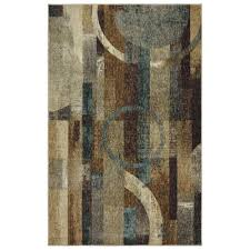 mohawk home fortis teal area rug 5