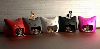 colorful modern furniture. creative furniture design ideas for small pets modern cat houses in various colors colorful